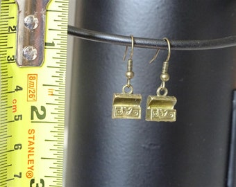 Treasure chest earrings