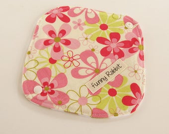 Cloth Pantyliner - Michael Miller Floral Candy -