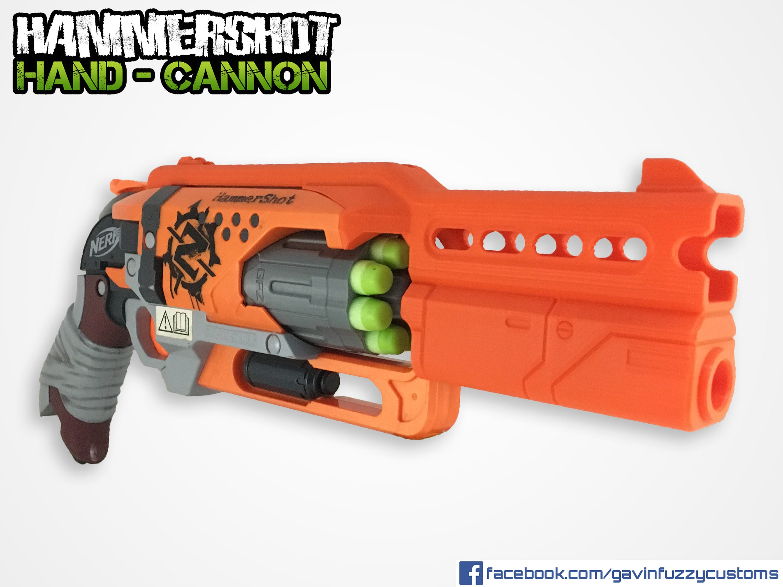Nerf Multi Dart Size Gun