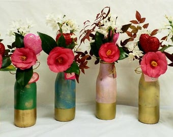 Three (3) Single Bud Vases from the CAMPAGNE (French Country) Collection