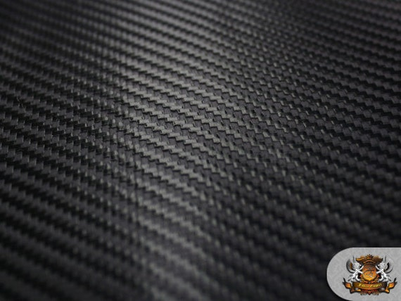 Vinyl Embossed Carbon Fiber Upholstery Fabric 58 Wide