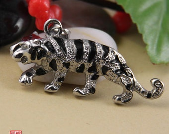 Clearance-Tiger Stainless Steel Pendant