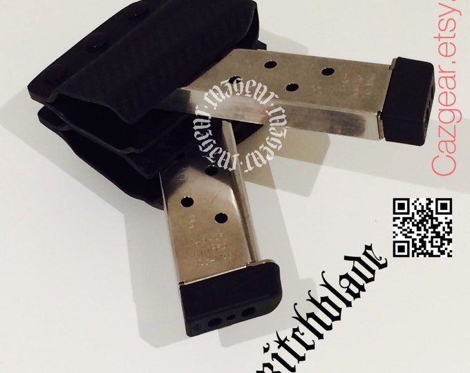 Double Arondight Switchblades for 1911 / .40 / 9mm Single Stack Horizontal or Vertical Mag Carrier