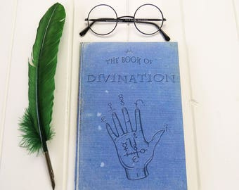 Divination A5 Notebook - Fortune Telling Notebook - Witches & Wizards - Back to School - Geek Gift - Notepad Jotter - Magic - Stationery