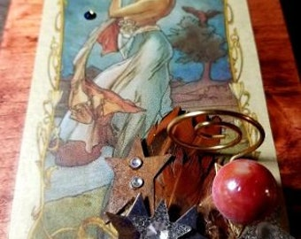 Vintage Star Tarot Box
