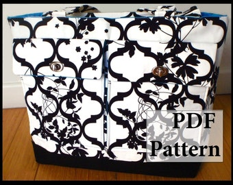 Everything Bag XL- PDF Sewing Pattern Tutorial