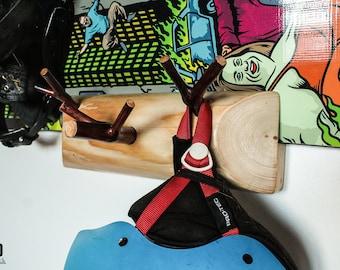 Snowboard Stand, Snowboard Holder, Snowboard Shelf, Snowboard Rack, Snowboard Accessories, Gift For Snowboarder
