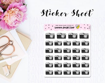 Camera Photography Stickers