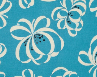 Denyse Schmidt Katie Jump Rope Allure Ribbon Floral cotton quilt fabric - one yard or by the yard