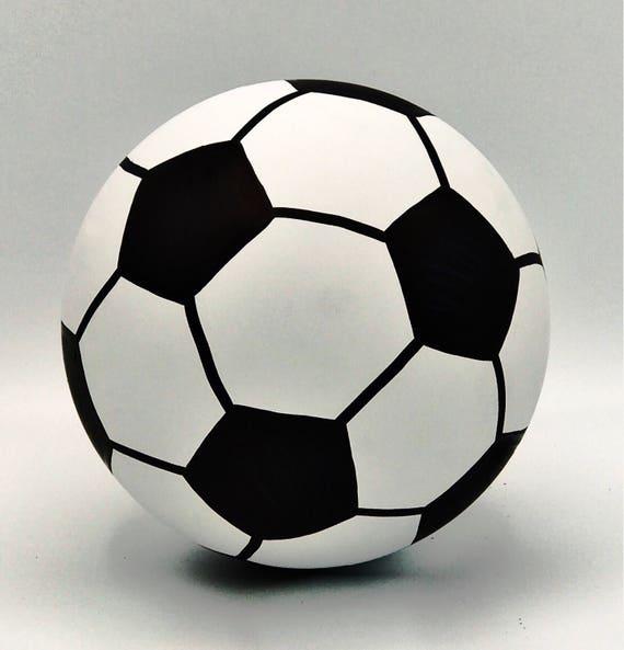 """6.25"""" SOCCER BALL Gender Reveal Soccer Gender Reveal Ships Same Day!"""