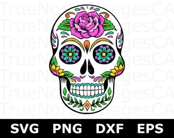 sugar skull clipart etsy studio rh etsystudio com day of the dead clip art free day of the dead clip art borders