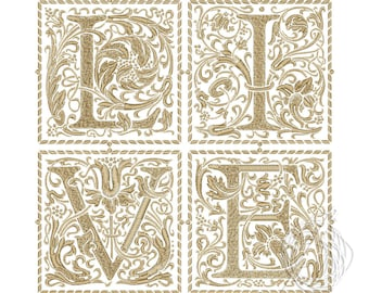 LIVE Embroidery Design - Text embroidery design - Embroidery file