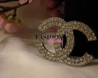 Showstopper Crystal Rhinestone Brooch/Pin CC