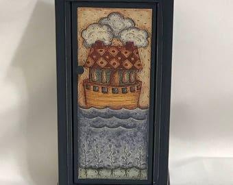 "Dollhouse Miniature 1"" Scale Noah's Ark Armoire"