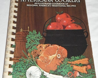 Americana Cookery Favorite Recipes of Home Economics Teahers 1971