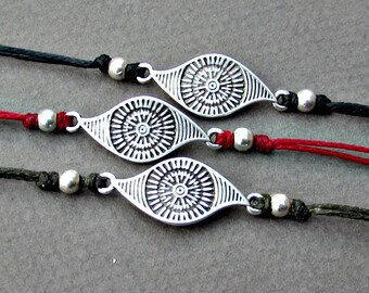 Boho Eye Mens Bracelet Anklet Women Bracelet Anklet Adjustable