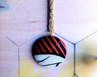 The Rays Over Ngorongoro Necklace  //  Stripes