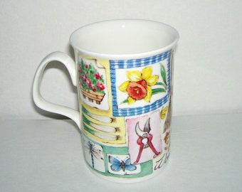 Roy Kirkham Bone China Gardening Gardener Mug