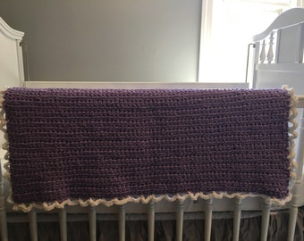 Baby Blanket - Purple