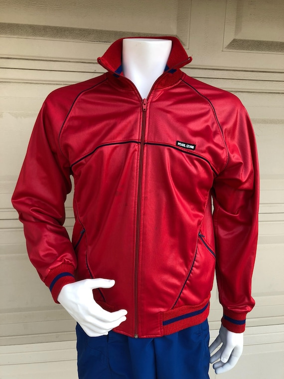 Vintage Neon Windbreaker Colorblock Jacket Pearl Izumi Small zRIZio3V