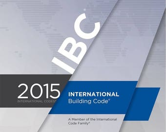 2015 International Building Code (IBC) by International Code Council (PDF on CD)
