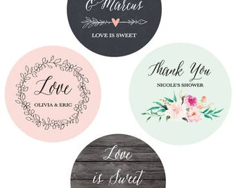 wedding favor stickers wedding labels personalized stickers wedding custom labels for wedding favor labels eb4007gdn mp 24 stickers