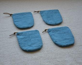 Blue purse, hemp purse, zip pouch, make up bag, makeup organiser, travel document wallet, pouch bag, pouches with zipper, pouch purse, bags