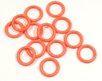 12mm Coral Rubber O-Rings