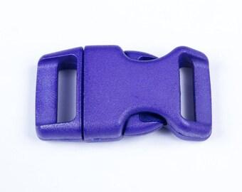 20 mm purple plastic clip