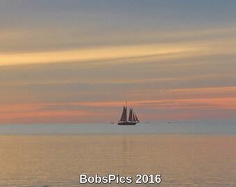 An evening sail in Ephraim, WI