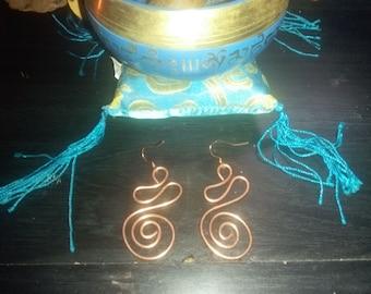 Genuine Copper Earrings