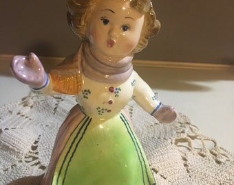 Adorable girl figurine numbered from Paul's in Italy