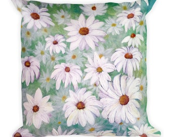Daisy, daisies Square Pillow