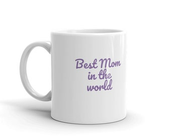 Mug, cup, home and living, drinkware, kitchen, coffee, tea, purple flower, mother, mothers day holiday,