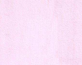Light Pink Fleece, Fabric By The Yard