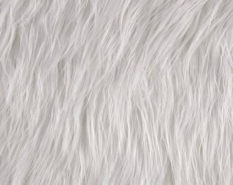 Gorilla faux fur pillow, pure white faux fur pillow cover, faux fur, pillow cover, gorilla fur, fur pillow cover, snow white pillow cover