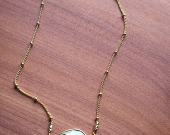 Pyrite necklace