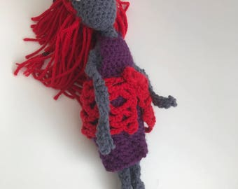 Crochet Doll, Made to Order