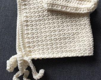 Bunny bonnet 0-6 months