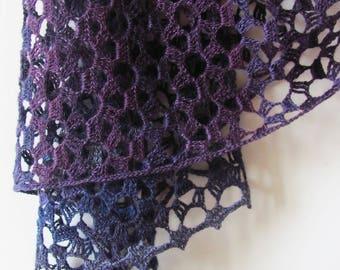 Flower Firework Wrap Crochet Pattern PDF