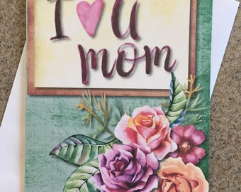 Item #112 All About Mother's / Mother's Day / Mother's Birthday - I Love You Mom - Proverbs 31:28