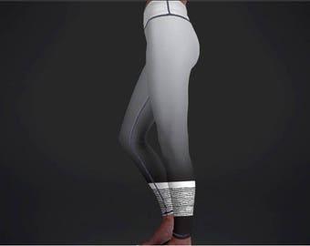 Yoga legging- Opaque yoga leggings yogawear activewear leggings women's yoga pants women's yoga leggings grey leggings yoga pants