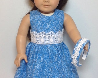 Fits like American Girl Doll Clothes Fits Like American Girl Doll Dress - 18 inch Doll Clothes - AG Doll Clothes