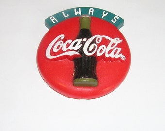 Coke magnet coca cola 1995 Round