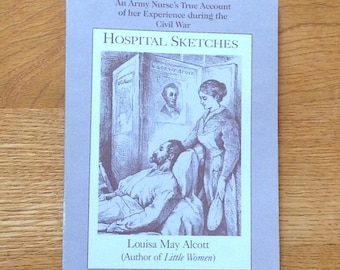 Vintage copy of Hospital Sketches by Louisa May Alcott