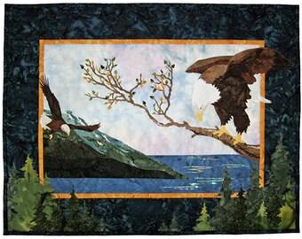 Wildfire Designs Alaska Taking Flight Applique Quilt Pattern