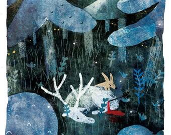 Dark Forest 1 Print