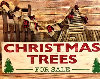Christmas Trees For Sale/ Christmas Tree Farm/ Christmas Sign/ Magnolia Inspired/ Joanna Gaines/ Fixxer Upper