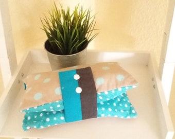Blue/Beige Diaper bag