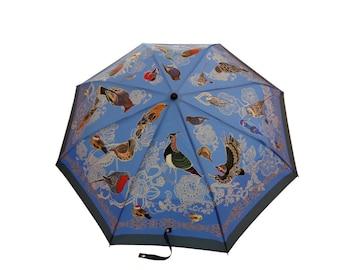 Ponente  — West Wind Umbrella (unique design, automatic, three-folding, 27 cm length)